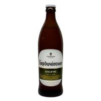Пиво Бердичівське Класичне світле живе непастеризоване 3,5% с/б 0,5л