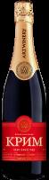Вино ігристе Крим червоне напівсолодке 10,5-13,5% 0.75л