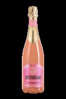 Вино ігристе Артемівське рожеве напівсухе 10-13,5% 0.75л