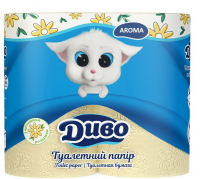 Туалетний папір Диво Арома 4шт