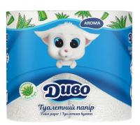Папір туалетний Диво Aroma білий 2шар. 4шт.