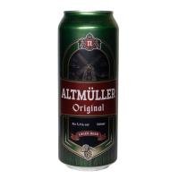 Пиво Полтава Альт Мюллер Оригінальне лагер 5.1% ж/б 0.5л