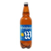 Пиво Уманьпиво Waissburg Lager світле живе фільтроване 4,7% 1л пет