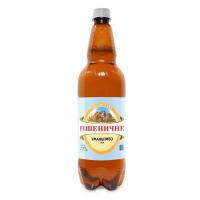 Пиво Уманьпиво Пшеничне світле живе фільтроване 4.4% 1л пет