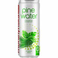 Напій Morshynska Plus Pine Water смак м`яти з/б 0,33л х12