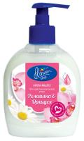 Крем-мило рідке для чутливої шкіри Flower Shop Ромашка & Орхідея, 300 мл