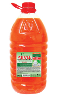 Засіб для посуду Silvia Activ зелене яблуко 5л