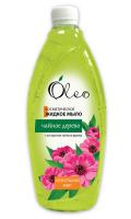 Мило рідке косметичне Oleo Антибактеріальний ефект Чайне дерево, 1 л