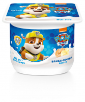 Йогурт Danone Банан-Печиво 2% 115г