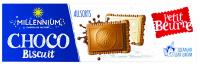 Шоколад Millennium Choco Biscuit асорті з печивом 132г