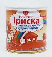 Молоко MamaMilla згущене варене Іриска 8,5% 370г