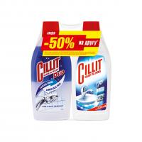 Засіб чистячий Cillit від нальоту та іржі 500мл + 450мл