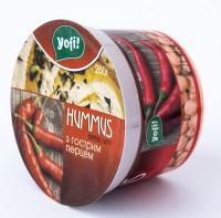 Закуска Yofi Hummus з нуту з гострим перцем 250г