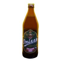Пиво Опілля Корифей світле живе 4,2% с/б 0,5л