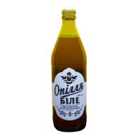 Пиво Опілля Біле пшеничне світле живе нефільтроване 4% с/б 0,5л