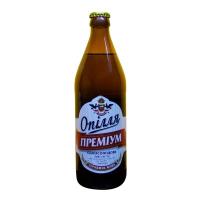 Пиво Опілля Преміум односолодове світле живе 5% с/б 0.5л
