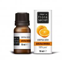 Олія ефірна натуральна Flora Secret Апельсинова, 10 мл