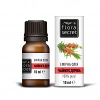 Олія ефірна натуральна Flora Secret Чайного дерева, 10 мл
