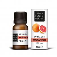 Олія ефірна натуральна Flora Secret Грейпфрутова, 10 мл