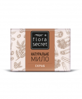 Мило Flora Secret Скраб 75г