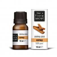 Олія ефірна натуральна Flora Secret Кориці, 10 мл