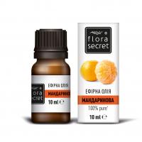 Олія ефірна натуральна Flora Secret Мандаринова, 10 мл