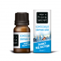 Суміш натуральних ефірних олій Flora Secret Захист від застуди, 10 мл