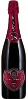 Вино ігристе Artwine Червоне брют 0,75л