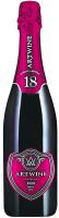 Вино ігристе Artwine червоне брют 10.5-13.5% 0,75л