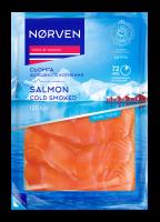 Сьомга Norven х/к нарізка в/у 120г