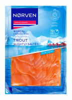 Форель Norven нарізка слабосолена 120г