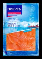 Форель Norven нарізка холодного копчення 120г