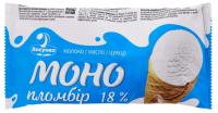 Морозиво Ласунка Моно пломбір 18% ріжок 70г