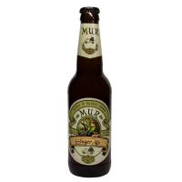 Пиво Mur Ginger Ale Імбирний Ель крафт світле нефільтроване 4,8% 350мл