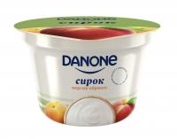 Сирок Danone Персик-Абрикос 3,4% 170г