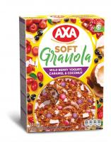 Сніданок AXA Granola з ягідним йогуртом та шокол. 320г
