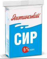 Сир Яготинський кисломолочний 5,% 180г
