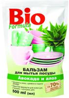 """Бальзам для миття посуду Bio Formula """"Авокадо і алое"""", 500 мл"""