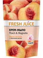 Крем-мило рідке Fresh Juice Peach & Magnolia, 460 мл (дой-пак)