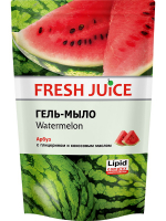 Гель-мило рідке Fresh Juice Watermelon, 460 мл (дой-пак)