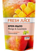 Крем-мило рідке Fresh Juice Mango & Carambola, 460 мл (дой-пак)