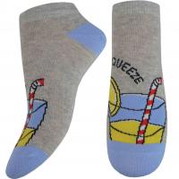 Шкарпетки Легка Хода жіночі р.36-37 срібло меланж арт.5432