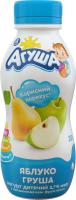 Йогурт Агуша з наповнювачем Яблуко-груша 2,7% 200г