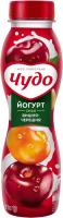 Йогурт Вімм-Білль-Данн Чудо Вишня-черешня 2,5% 270мл