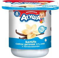 Сирок Агуша Імуніті ваніль 3,9% 100г