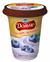 Десерт Lactel Дольче чорниця 3,4% 350г х6