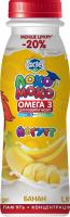 Йогурт з наповнювачем банан з кальцієм Омега 3 та вітаміном D3 1,5% Локо Моко (пляшка 0,185 кг)