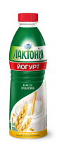 Йогурт з наповнювачем висівки-злаки з пребіотиком лактулози 1,5% Лактонія (питний) (Пляшка 0,780 кг)