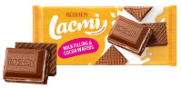 Шоколад Roshen Lacmi мол. з мол.нач., та вафлею 90г