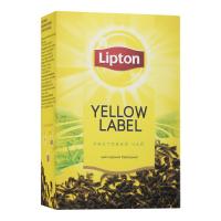 Чай Lipton Yellow Label чорний листовий 80г